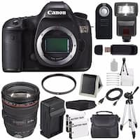 Canon EOS 5DS DSLR Camera (International Model) 0581C002 + Canon EF 24-105mm f/4L IS USM Lens + Bundle
