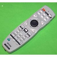 Epson Projector Remote Control Shipped With: PowerLite Pro Z8000WUNL & Z8050WNL