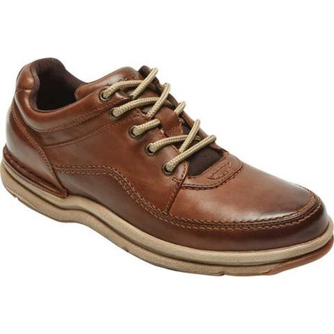 huge discount a46a6 08b1e Rockport Men s World Tour Classic Walking Shoe Brown Leather. Was.  109.95.   32.99 OFF. Sale  76.96
