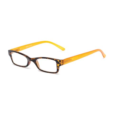 Readers.com The Lime Rectangle Reading Glasses