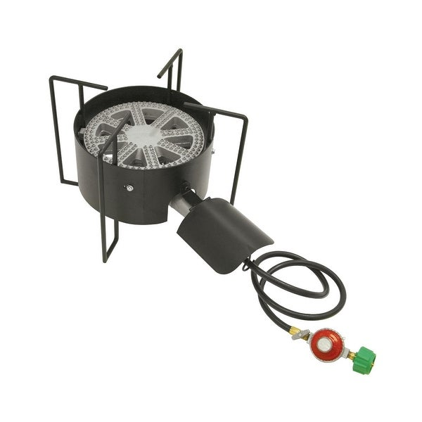 Bayou Classic KAB4 Banjo Outdoor Gas Cooker - Black