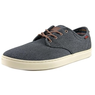 Vans Ludlow Men Round Toe Canvas Black Sneakers