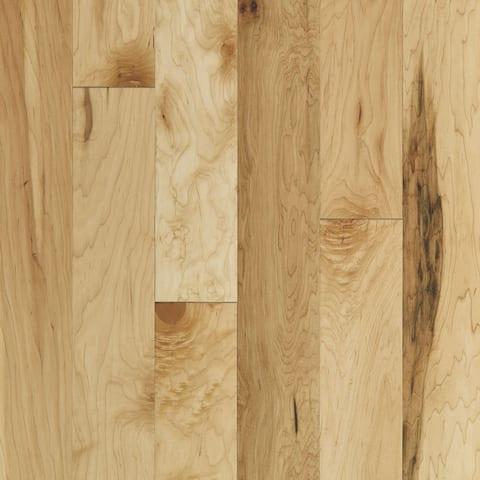 "Shaw SW590 Ocala 5"" Wide Smooth Engineered Hardwood Flooring with"
