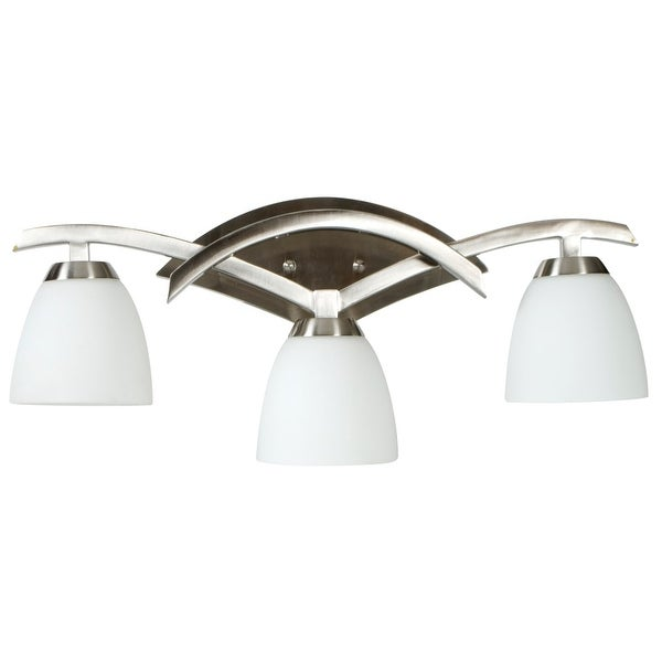 Craftmade 14024 Viewpoint 3 Light Bathroom Vanity Light - 24 Inches Wide