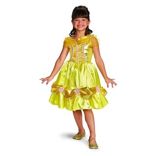 Belle Sparkle Child Costume Classic - Yellow