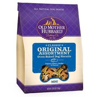 Old Mother Hubbard Mini Assorted Dog Biscuit Treats 3LB 13oz