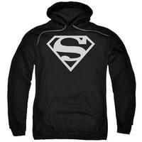Superman Logo Mens Pullover Hoodie
