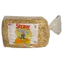 Mini Straw Bale for Thanksgiving or Christmas Decorations - 125 Square Feet
