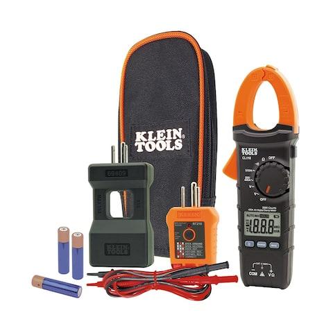 Klein tools electrical maintenance & test kit