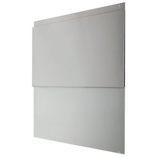Air King BS30 30 Inch Wide x 33.44 Inch High Back Splash for Air King Profession