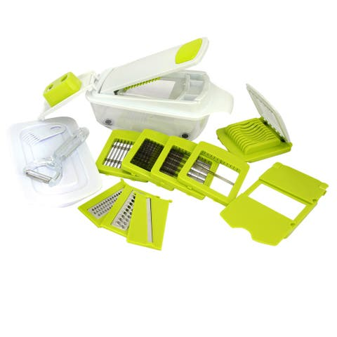 MegaChef 8 in 1 Multi-Use Slicer Dicer, peeler and Chopper