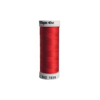 942 1039 Sulky Rayon Thread 40wt 250yd True Red