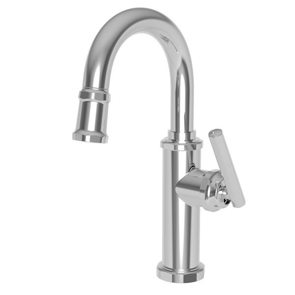 Newport Brass 3190-5223 1.8 GPM Single Hole Bar Faucet - Polished Chrome. Opens flyout.