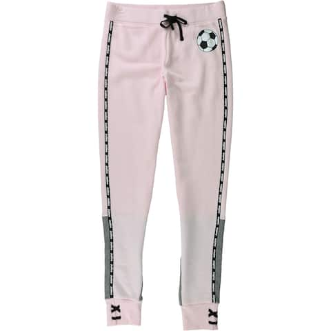 Justice Girls Solid Athletic Jogger Pants - 14/16
