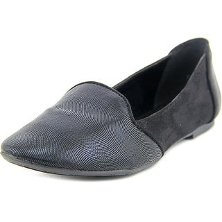 Style & Co Alisson Women Round Toe Canvas Black Loafer