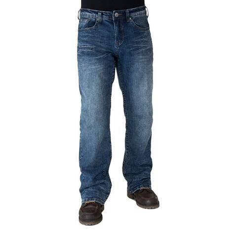 B. Tuff Western Jeans Mens B. Cruzn' Bootcut Light Wash