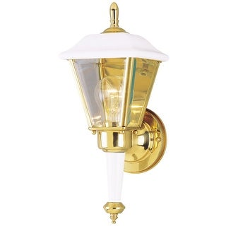 "Westinghouse 67887 One-Light Outdoor Wall Lantern, 6"" x 13.5"""