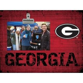 Georgia Bulldogs Clip Frame