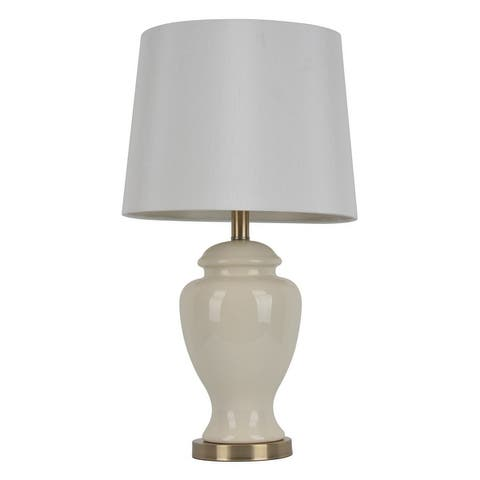 Copper Grove Hersey 24-inch Ceramic Table Lamp