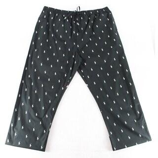 Polo Ralph Lauren NEW Black Mens Size 2XLT Lounge Pants Sleepwear