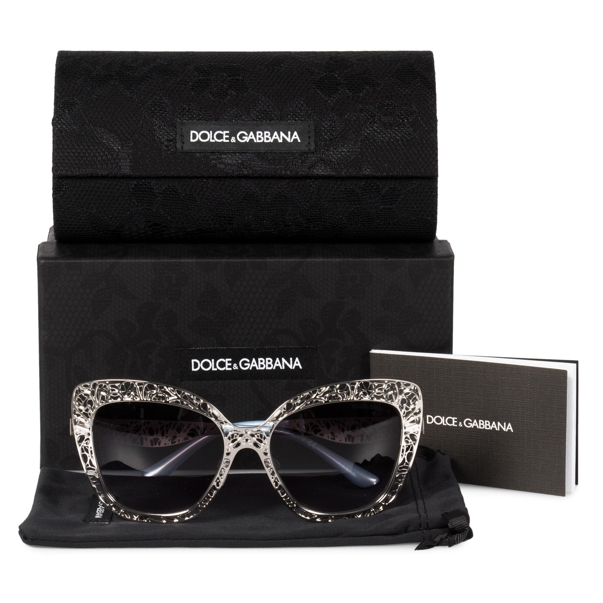 da4790e6fa56 Shop Dolce & Gabbana Butterfly Sunglasses DG2164 05/8G 56 - Free Shipping  Today - Overstock - 23138809