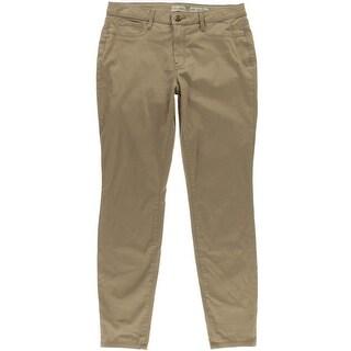 Maison Jules Lou Lou Cropped Straight Leg Casual Pants