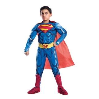 Boys Ultimate Superman Premium Armored Halloween Costume - medium (size 8-10)