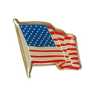 Competition Inc. American Flag Lapel Pin - multi - One Size