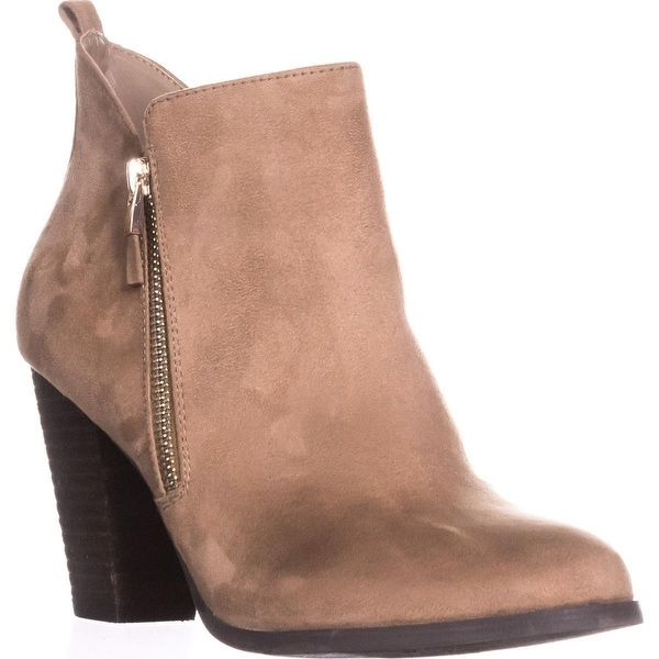 Call It Spring Kokes Double Side-Zip Ankle Booties, Beige - 10 us / 41 eu