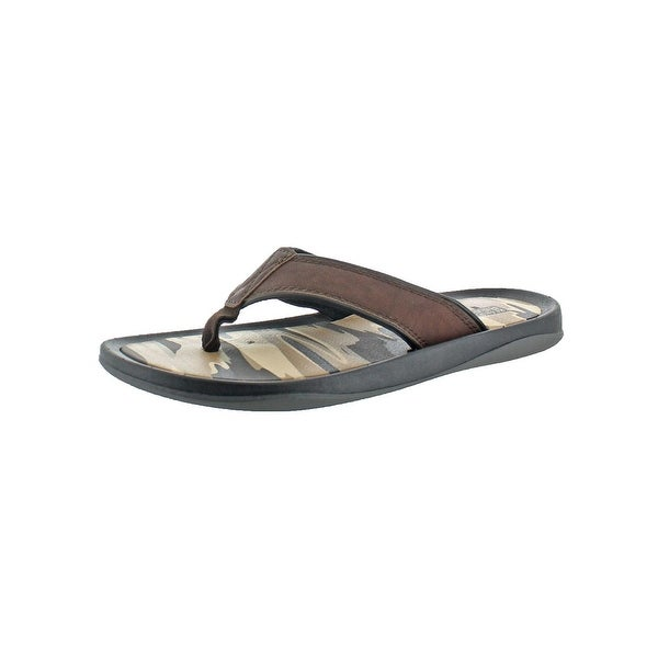 Kenneth Cole Reaction Mens Four The Best Flip-Flops Casual Thong
