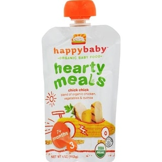 Happy Family - Organic Baby Food Stage 3 - Chick Chick ( 16 - 4 OZ)
