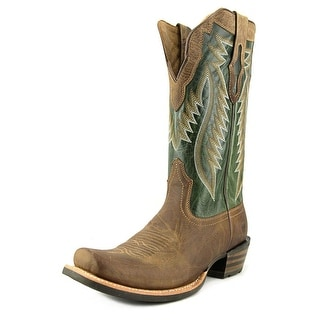 Ariat Futurity Square Toe Leather Western Boot