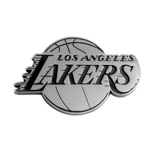 "NBA - Los Angeles Lakers Emblem - 2.5"" x 4"""
