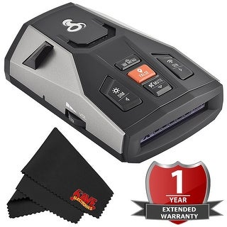 Cobra Electronics 0180006-1 Cobra Rad 500G Radar Detector with 2 Year Warranty
