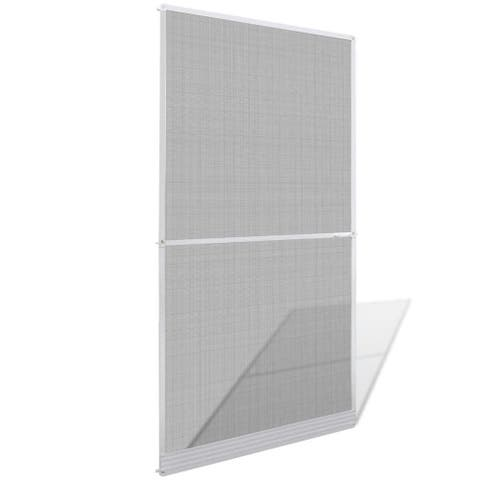 """vidaXL White Hinged Insect Screen for Doors 47.2""""x94.5"""""""