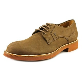 Tod's Derby Fondo Light Ox Round Toe Leather Oxford