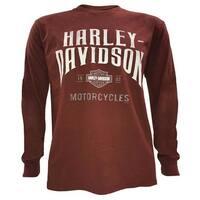 Harley-Davidson Men's Concrete Frontier Long Sleeve Crew Neck Shirt 5L36-HF23
