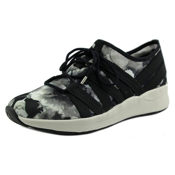 Easy Spirit Illuma Women Round Toe Canvas Black Walking Shoe