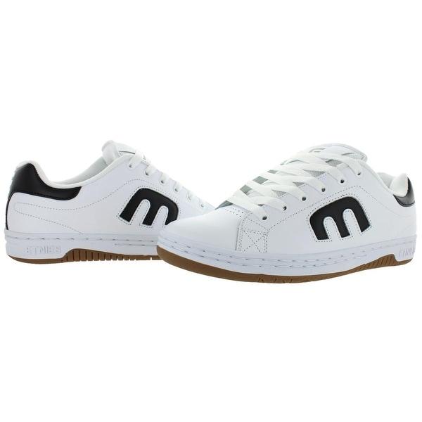 Shop Etnies Mens Calli Cut Skate Shoes Leather Low Top