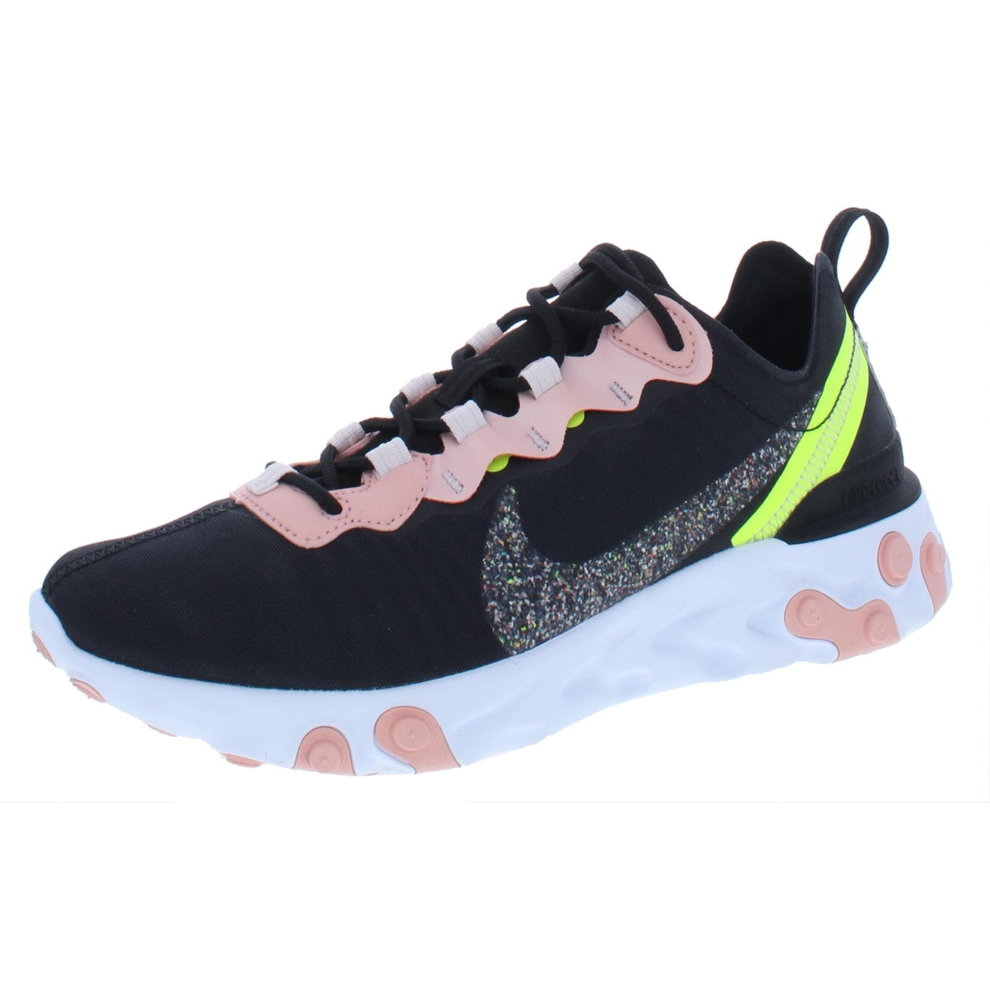 coral nike running shoes