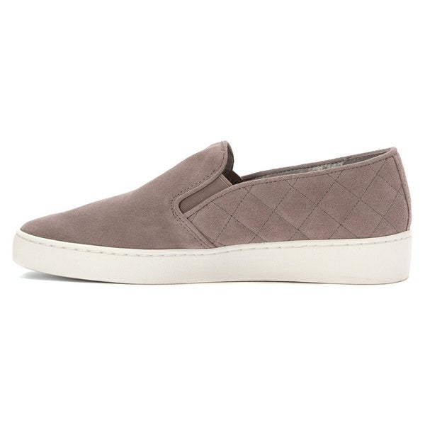 Michael Kors Womens KEATON Leather Low Top Slip On Fashion Sneakers