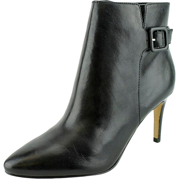 Marc Fisher Tailynn Pointed Toe Leather Ankle Boot