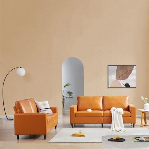 Abrahamson 2 Piece Sofa and Loveseat Set
