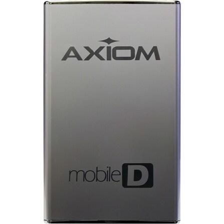 """Axion USB3HD257320-AX Axiom Mobile-D 320 GB 2.5"" External Hard Drive - USB 3.0 - SATA - 7200 - Hot Swappable"""