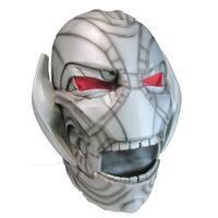 Avengers 2 Ultron 3/4 Costume Mask Adult One Size - Grey