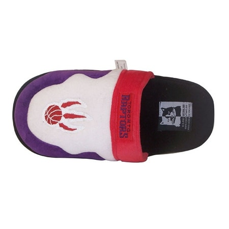 1404361d90a33a Shop Happy Feet Mens and Womens Toronto Raptors NBA Scuff Slippers - Purple  - Free Shipping On Orders Over  45 - Overstock.com - 15805958