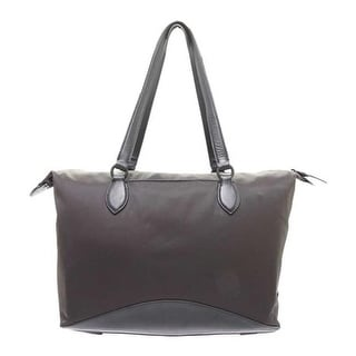 9dc1bc0ba9 Shop Cole Haan Women's ZeroGrand Tote Bag Black Cotton/Nylon/Leather Trim -  US Women's One Size (Size None) - Free Shipping Today - Overstock - 25667935