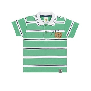 Baby Boy Polo Style Shirt Striped Tee Pulla Bulla Sizes 3-12 Months