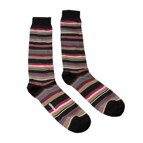 Missoni GM00CMU5235 0003 Tan/Pink Knee Length Socks