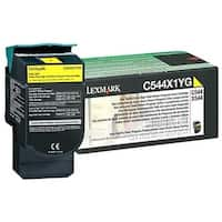 """Lexmark C544X4YG Lexmark Return Program Extra High Yield Yellow Toner Cartridge - Laser - 4000 Page - Yellow"""